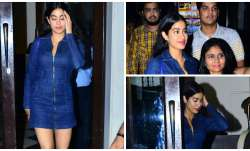Janhvi Kapoor is gradually on the way to become style diva