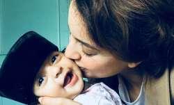 Kangana Ranaut enjoys 'early morning kisses &