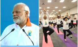 International Yoga Day is here and people all around the