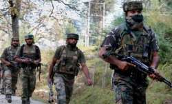 One officer and two soldiers were injured in the operation.
