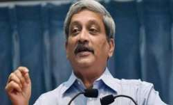 Goa CM Manohar Parrikar, 63, who had also been the defence