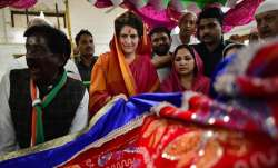 Congress General Secretary UP-East Priyanka Gandhi Vadra