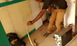Shocking! Snake found inside ATM in Tamil Nadu, watch