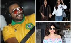 From Ranveer Singh's quirky look to Shilpa Shetty and