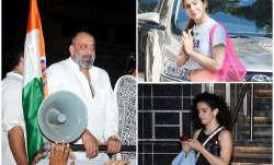 Latest Bollywood Photos April 23: While Sanjay Dutt rallies