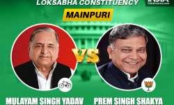 Mainpuri Lok Sabha seat: SP leader Mulayam Singh Yadav leads