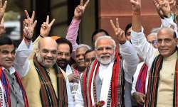 The saffron organisation expected that the new government