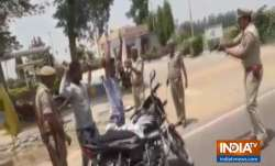 Hands up! Uttar Pradesh cops check vehicles at gun point |