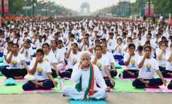 PM Narendra Modi on International Yoga Day