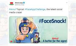 Amul takes up viral #FaceAppChallenge, netizens say it's