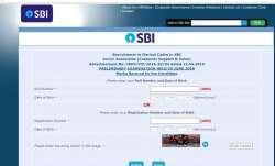 SBI Clerk Prelims Result 2019 released @sbi.co.in; check