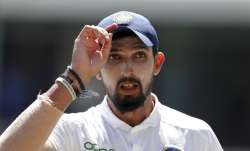 Senior India pacer Ishant Sharma