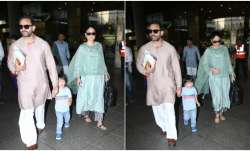 Kareena Kapoor, Saif Ali Khan's style game on point as
