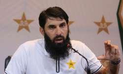 Pakistan coach Misbah-ul-Haq