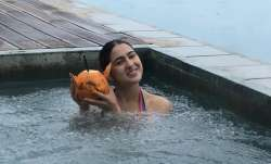 Sara Ali Khan's pool photos from Sri Lanka vacation