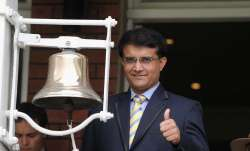 File image of Sourav Ganguly