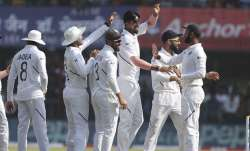 India take a commanding position in the first day of the