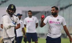 Day-Night Test: Virat Kohli takes charge, faces Mohammed Shami during twilight