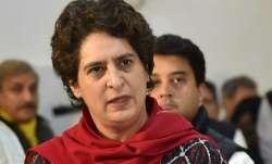 BJP has ruined economy: Priyanka on falling GDP