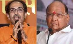 In late-night meet, Uddhav-Aaditya call on Pawar to finalise 'architecture' of Maharashtra alliance