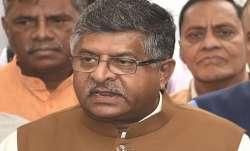 Union Minister Ravi Shankar's bio-break forces brief adjournment of Rajya Sabha proceedings