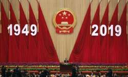 China dressed up in celebratory red for 70 years of People's Republic of China
