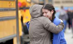 Student, officer injured in high school shooting in