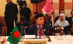 Bangladesh's foreign minister AK AbdulMomin