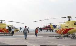 Chopper service remains suspended for second day at Mata Vaishno Devi shrine