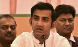 Gautam Gambhir offers Rs 50 lakh from MPLAD fund to Delhi