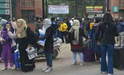 Jamia students stage protest against police action, demand