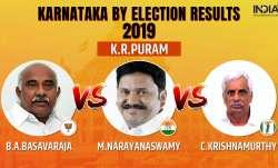 Karnataka Legislative Assembly by-election 2019 KR Puram results counting of votes