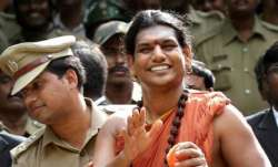 Fugitive godman Nithyananda sets up own 'Hindu sovereign