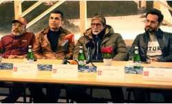 Chehre stars Amitabh Bachchan, Emraan Hashmi attend press