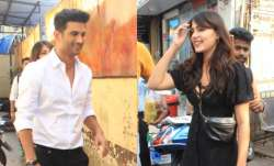 Rumoured lovebirds Rhea Chakraborty and Sushant Singh