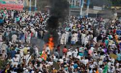 Violent protests continue in Bengal, several buses, railway station torched