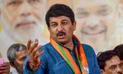 Manoj Tiwari, Delhi BJP chief, Chunav Manch, Manish Sisodia, BJP, AAP