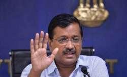 A file photo of Delhi Chief Minister Arvind Kejriwal