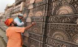 Ram temple trust chief offers prayers at shrine, his 'first visit' in 28 yrs
