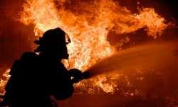 Kolkata: Fire breaks out in Rajabazar area