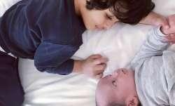 Lisa Haydon and husband Dino welcome second baby boy