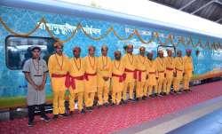 Kashi-Mahakal Express inaugural train/File