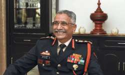 A file photo of Indian Army chief MM Naravane