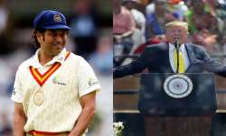 Sachin Tendulkar and Donald Trump