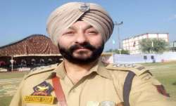Suspended JK police officer Davinder Singh sent to further custody till April 3