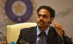 Former Indian chief selector MSK Prasad