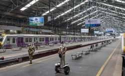 A file photo of Churchgate station in Mumbai for
