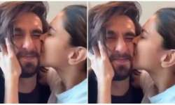 Ranveer Singh has 'World's Most Squishable Face', wife Deepika Padukone showers all the love and kis