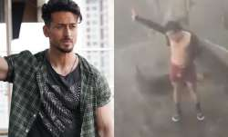 Tiger Shroff's lookalike breaks the internet with his dance moves amid heavy rain and storm