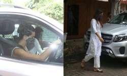 Rhea Chakraborty was seen with her friend Shibani Dandekar